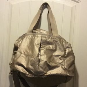 Handbags - Lesportsac diaper bag in gold excellent condition